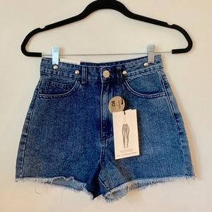 Cotton On cutoff shorts, NWT, size 2